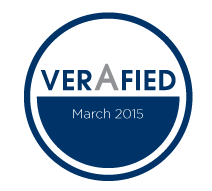 The VerAfied mark is a quality indicator for the security level of applications and software components. Veracode's ratings are completely transparent and based on industry standards for software assessment from NIST, CWE and CVSS.